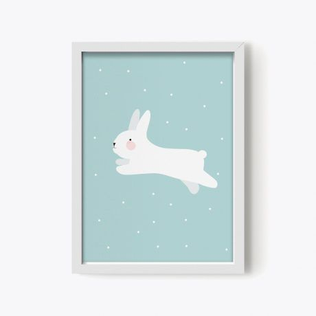 Póster White Rabbit