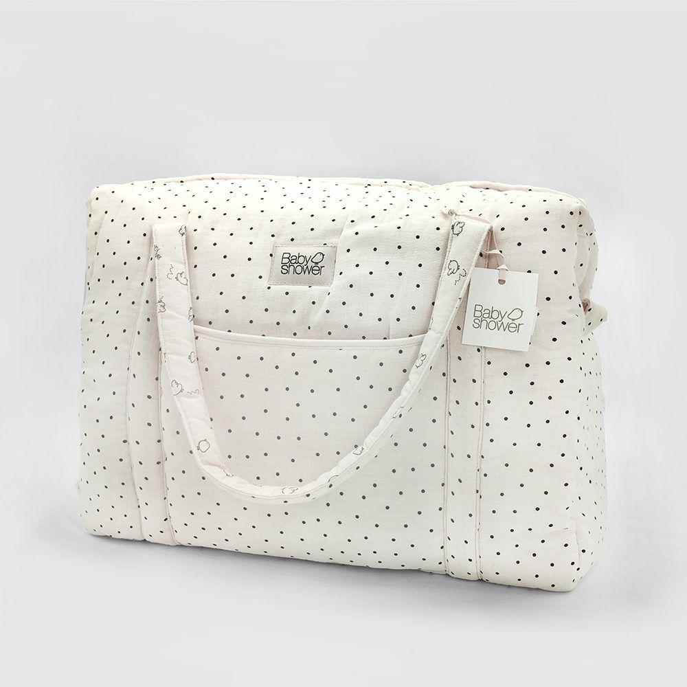 Camila Polka Dot Maternity Bag