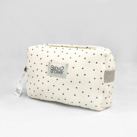 Camila Polka Dot Toiletry Bag